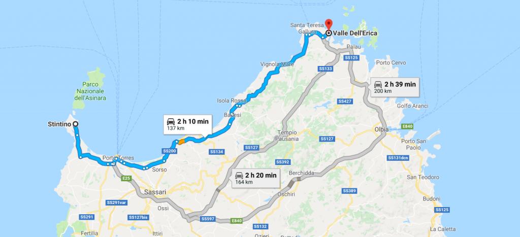 Cartina Sardegna Settentrionale.Sardegna In Moto Un Differente Modo Di Vivere La Sardegna Wonderful Sardinia