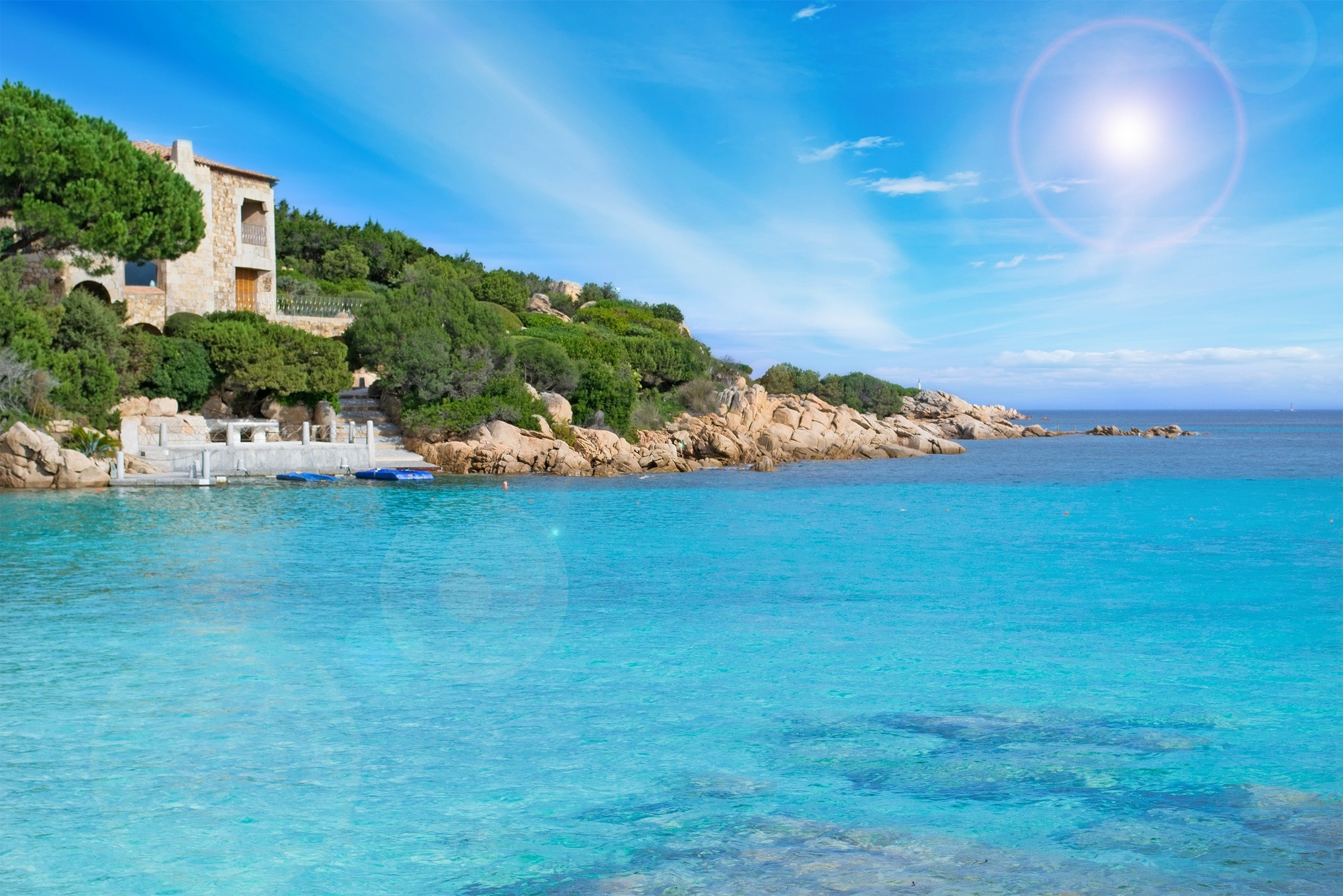 Costa smeralda sardinia hotels and beaches for your holiday for Arredi costa smeralda