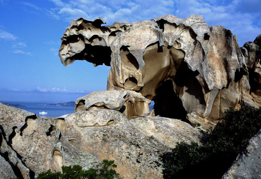 Roccia dell'Orso, Palau