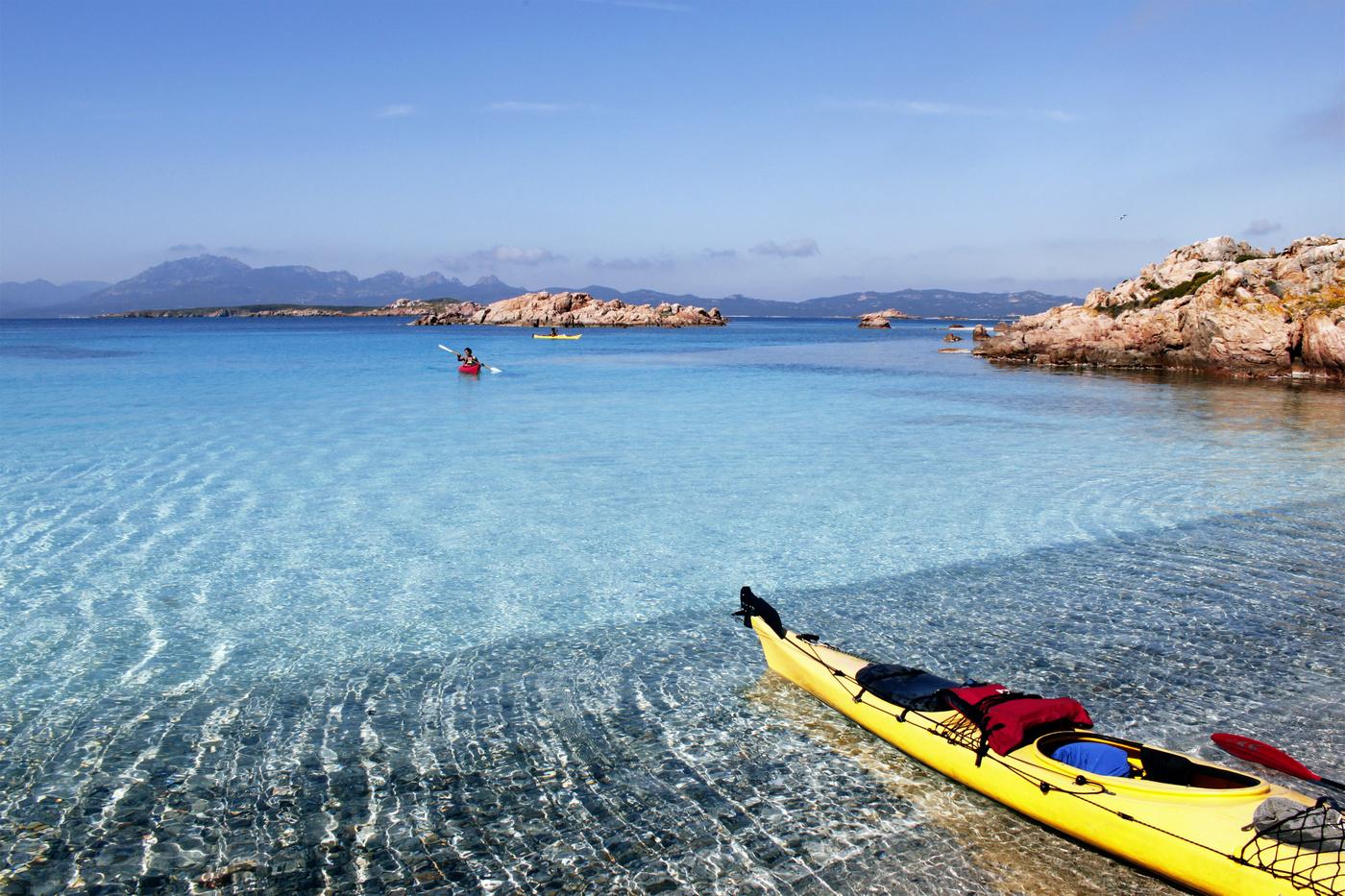 Kayak nel mare di Bari Sardo