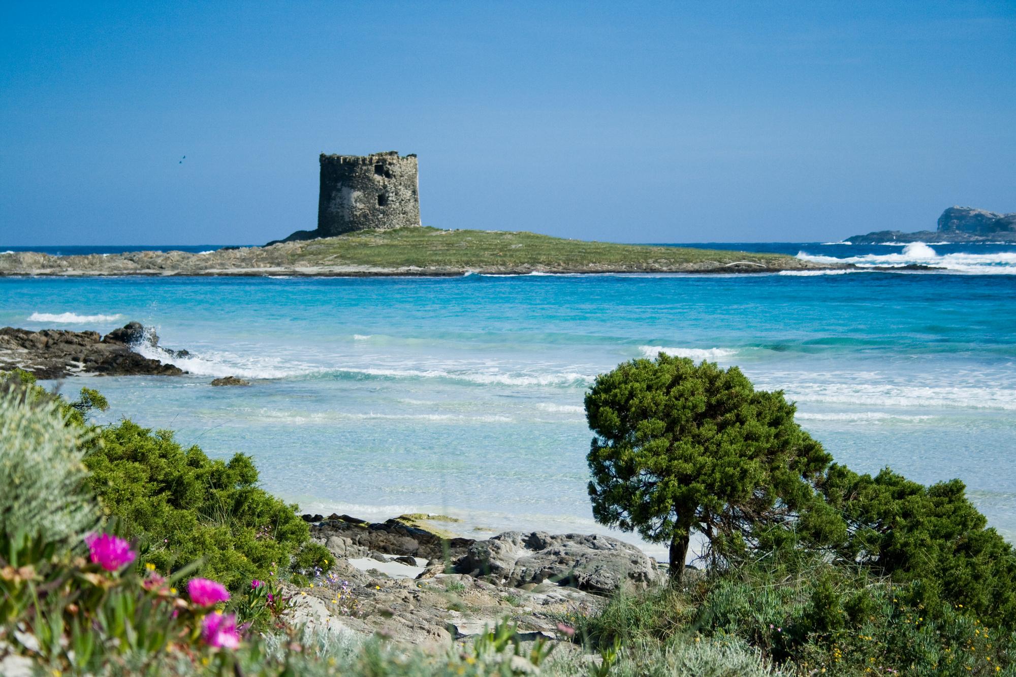 Vista dall'Asinara, Stintino (SS)