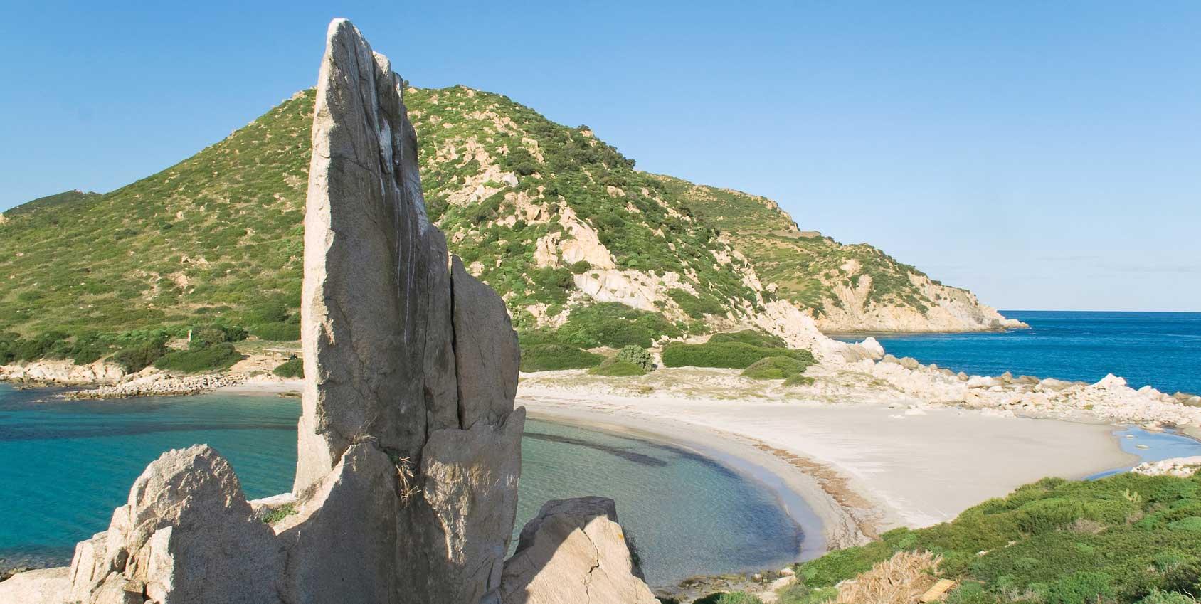 Villasimius, Punta Molentis
